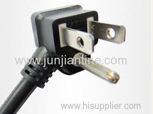 America 12A/125v Standrad 3pin power plug cord/wire