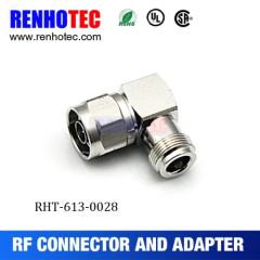 Right Angle N Type Male To Type N Female Adapter
