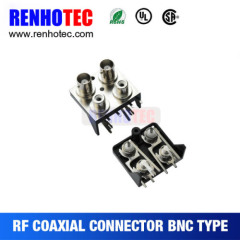 Two BNC to RCA Jack In Two Row