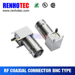 90 Degree BNC Female Connector for PCB Mount