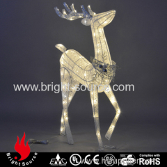 Outdoor reindeer lights With Warm White Lights and Twinkling lights