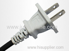 American Power Cord Plug Flexible Cable