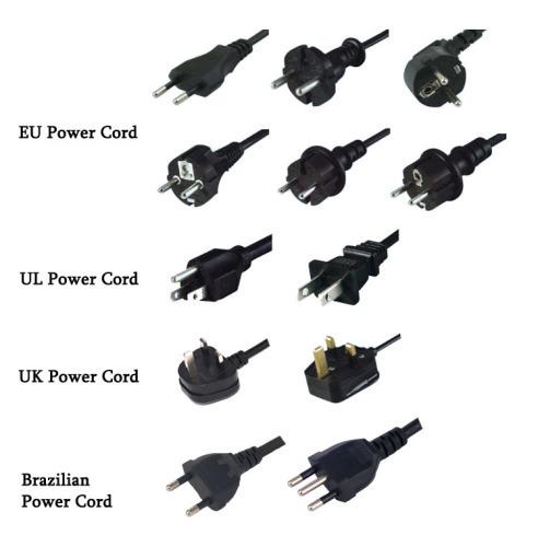 UL certification poles plug USA Standard power cord supplier