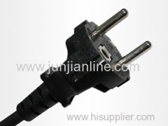 South Korea 250v Standrad 2 pin power plug cord