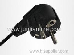 Korea 250v Standrad 2 pin plug power wire