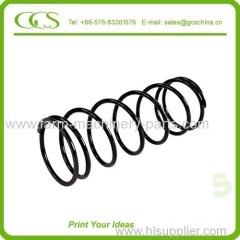 big diameter spring hot coiled spring high pressure spring large coil springs ground end compression spring