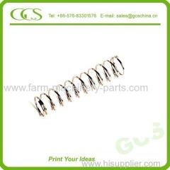 spring steel coiled compression spring spring steel compression spring zinc plated compression spring