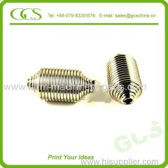 ends closed and gound compression spring zinc plated high load compression spring high compression spring