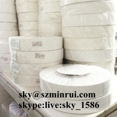 destructible vinyl roll/ultra destructible label material/eggshell sticker papers from China factory