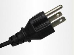 Taiwan 3 pin plug power cord