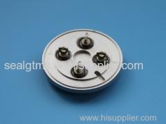 hermetic glass - metal seal battery covers