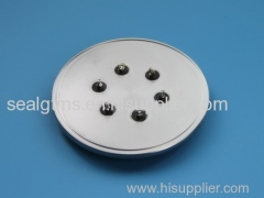 Hermetic seal battery cover