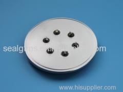 Hermetic seal battery cover