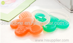 China Manufacturer Baby Toys High Quality Food Grade Funny Silicone Baby Teether Wholesale