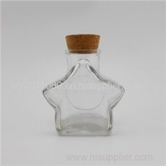 Star Shaped Glass Candy Jars