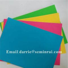 China top factory of tamper evident Colorful Ultra Destructive vinyl Eggshell sticker material jumbo rolls