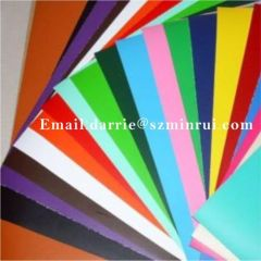 China top manufacturer of Colorful self adhesive Destructible vinyl security paper sheets and Eggshell paper roll