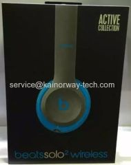New Arrival Beats by Dr.Dre Beats Solo2 Wireless Headband Headphones Active Collection Blue