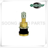 TR501 Brass Tubeless Truck and Bus Tire Valves