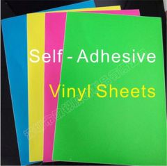 China top manufacturer of self adhesive Destructible vinyl wholesale colorful tamper evident security paper