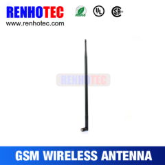 Manufacture Black Wireless Rubber Duck 3db Wifi Antenna