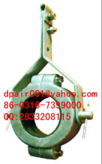 JGX-5 cable clamp with tensioning wire rope