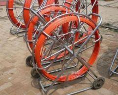 Fiberglass cable conduit rod