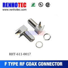 Solder Type F Female Connector