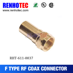Gold-Planting F Male Connector