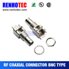 Straight BNC Jack For PCB Mount