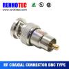 Straight BNC Plug to RCA Plug Adaptor