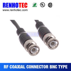 Straight BNC Male to BNC Male Adaptor Connector