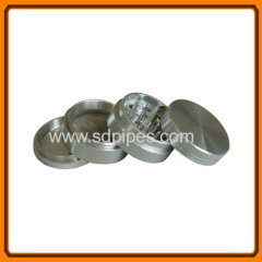 48mm 4part Metal Herb Grinder with white teeth