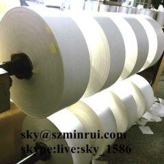 ultra destructible paper labels/breakable labels/permanent self adhesive destructible vinyl labels