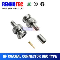 Quick Crimp BNC Plug for RG316 Connector