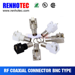Right Angle BNC Jack Connector for PCB Mount