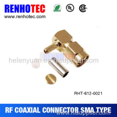 Connector for RG58u Cable
