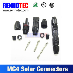 IP67 Waterproof MC4 Connector Cable Solar PV MC4 Connector
