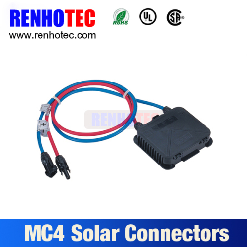 MC4 connector Solar Panel Junction Box With Cable