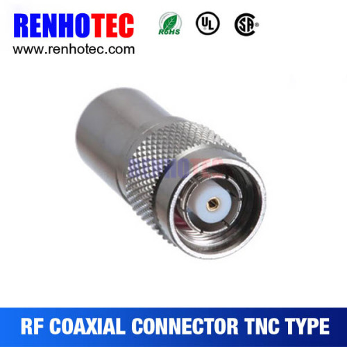 TNC Male Straight crimp type for RG8 RF Connector