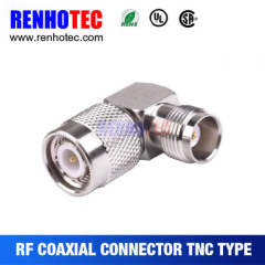 Right Angle TNC Male To TNC Female Connector RF Coaxial Adapter