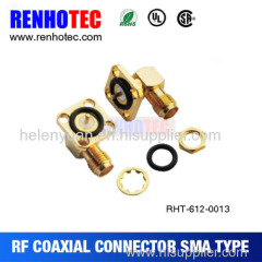 Right angle SMA with Washer