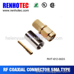 Factory Best price SMA str male connector for RG 316 cable