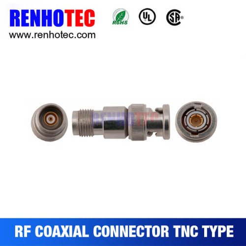 TNC Female/Jack To BNC Male/Plug Adapter Connector