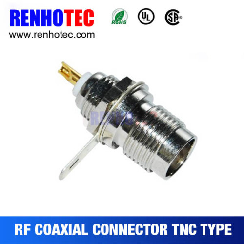 TNC Jack Female Bulkhead RF Connector