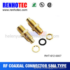 High quality factory price SMA female solder connector for cable RG316/RG174