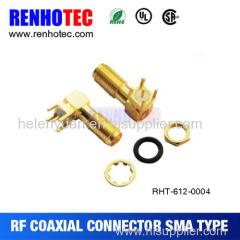 Dosin Factory price SMA Bulkhead electrical connector series pcb crimp female