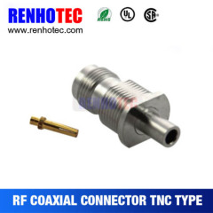 China Supplies TNC Jack Female Crimp Connector