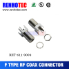 HOT SALE! electrical terminal rf f female connectors for CATV