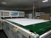 Solar module lamination step 2